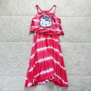 Hello Kitty Red White & Cute Dress